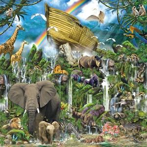 "SunsOut (80105) - John Enright: ""Ark Landing"" - 1000 piezas"