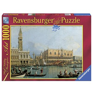 """Ravensburger (15402) - Canaletto: """"Ducal Palace"""" - 1000 piezas"""
