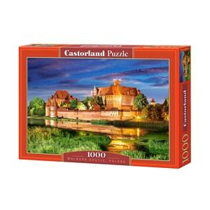 "Castorland (C-103010) - ""Poland, Malbork Castle"" - 1000 piezas"