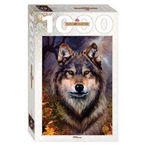 "Step Puzzle (79109) - Bente Schlick: ""Wolf"" - 1000 piezas"