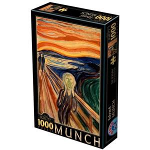 "D-Toys (72832-MU01) - Edvard Munch: ""The Scream"" - 1000 piezas"