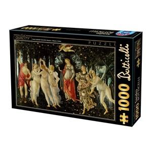 "D-Toys (66954-RN05) - Sandro Botticelli: ""Spring"" - 1000 piezas"