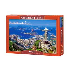 """Castorland (C-102846) - """"Rio de Janeiro, Brazil"""" - 1000 piezas"""