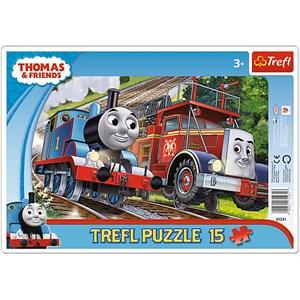 "Trefl (31231) - ""Thomas & Friends"" - 15 piezas"