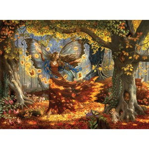"SunsOut (76322) - Ruth Sanderson: ""Woodland Fairy"" - 1500 piezas"