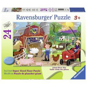 "Ravensburger (05285) - Karen Rossi: ""Farm Mania"" - 24 piezas"