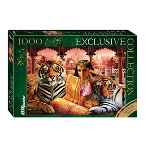 "Step Puzzle (79517) - ""Indian Princess"" - 1000 piezas"
