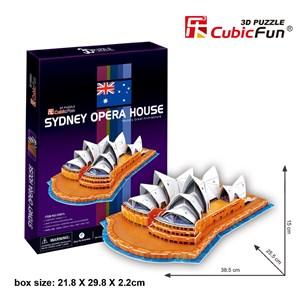 "Cubic Fun (C067H) - ""Sydney Opera House"" - 58 piezas"