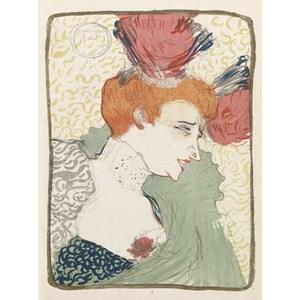 """Grafika (00173) - Henri de Toulouse-Lautrec: """"Mademoiselle Marcelle Lender, 1895"""" - 2000 piezas"""