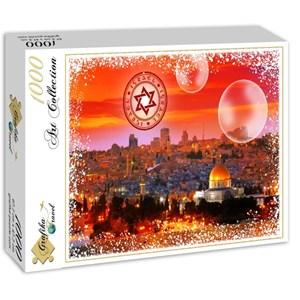 "Grafika (02473) - ""Travel around the World, Israel"" - 1000 piezas"