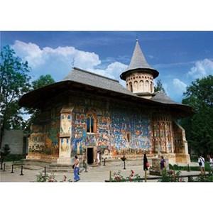 """D-Toys (63038-MN02) - """"Romania, Voronet Monastery"""" - 1000 piezas"""