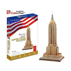 "Cubic Fun (MC048H) - ""Empire State Building"" - 55 piezas"