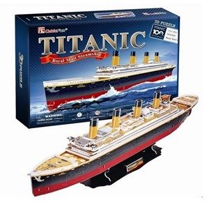 """Cubic Fun (T4011H) - """"Titanic"""" - 113 piezas"""