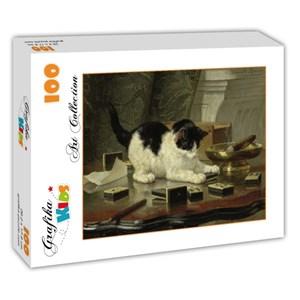 "Grafika Kids (00282) - Henriette Ronner-Knip: ""Kitten's Game"" - 100 piezas"