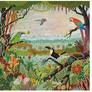 """Puzzle Michele Wilson (Z86) - Alain Thomas: """"Jungle"""" - 30 piezas"""