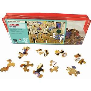"Puzzle Michele Wilson (W154-50) - Joan Miro: ""Carnaval"" - 50 piezas"