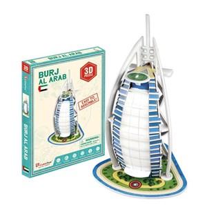 "Cubic Fun (S3007H) - ""Burj Al Arab"" - 17 piezas"