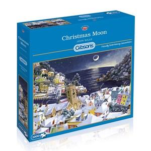 """Gibsons (G6198) - John Gillo: """"Christmas Moon"""" - 1000 piezas"""