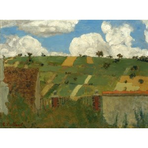 "Grafika (01812) - Edouard Vuillard: ""Landscape of the Ile-de-France, 1894"" - 2000 piezas"
