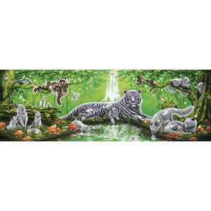 """Step Puzzle (79405) - """"At the Waterfall"""" - 1000 piezas"""