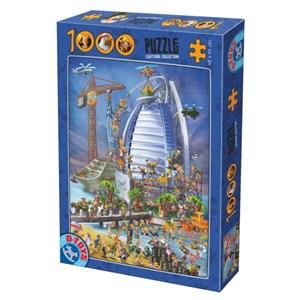 """D-Toys (61218-CC12) - """"Burj Al Arab"""" - 1000 piezas"""