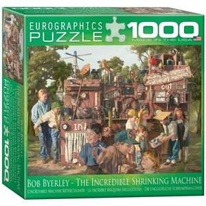"Eurographics (8000-0445) - Bob Byerley: ""Incredible Shrinking Machine"" - 1000 piezas"