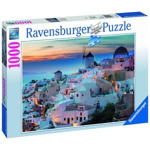 "Ravensburger (19611) - ""Evening on Santorini"" - 1000 piezas"