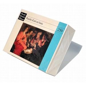 """Puzzle Michele Wilson (A102-250) - Georges de La Tour: """"Adoration of the Shepherds"""" - 250 piezas"""