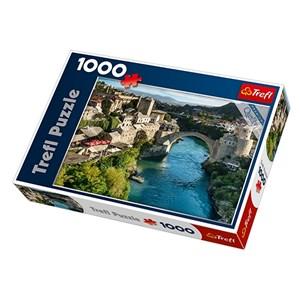 """Trefl (10383) - """"Mostar, Bosnia and Herzegovina"""" - 1000 piezas"""
