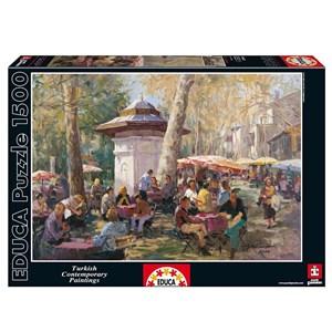 "Educa (14543) - Ayhan Türker: ""Emirgan, Istanbul"" - 1500 piezas"