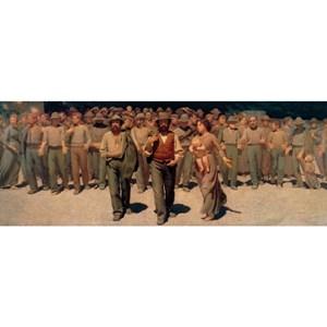 """Ravensburger (19006) - Giuseppe Pellizza da Volpedo: """"Il Quarto Stato, 1901"""" - 1000 piezas"""