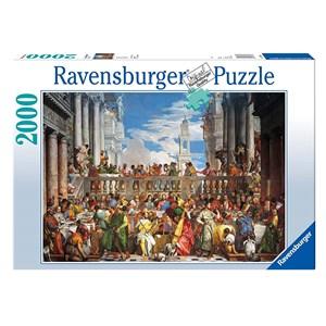"""Ravensburger (16653) - Paolo Veronese: """"Wedding at Cana"""" - 2000 piezas"""