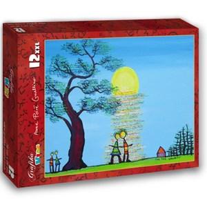 """Grafika Kids (01783) - Anne Poire, Patrick Guallino: """"Ecrit dans le Ciel"""" - 12 piezas"""