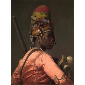 """Grafika (00449) - Jean-Leon Gerome: """"Chef Bachi-Bazouk, 1869"""" - 2000 piezas"""