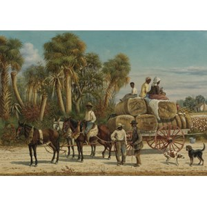 "Grafika (00379) - William Aiken Walker: ""Cotton Wagon, 1883"" - 1000 piezas"