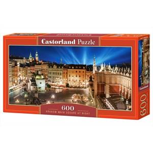 """Castorland (B-060306) - """"Krakow Main Square at Night"""" - 600 piezas"""