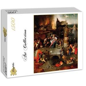 "Grafika (01165) - Jerome Bosch: ""The Temptation of Saint Anthony, 1495-1515"" - 1500 piezas"