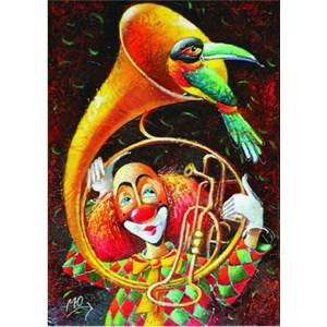 "Gold Puzzle (60553) - Yuri Macik: ""Unskilled Musician"" - 1000 piezas"