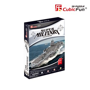 "Cubic Fun (P677h) - ""USS Enterprise"" - 121 piezas"