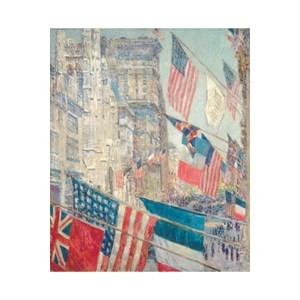 """Puzzle Michele Wilson (A237-350) - Childe Hassam: """"Allies Day May 1917"""" - 350 piezas"""