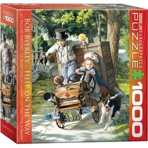 """Eurographics (8000-0439) - Bob Byerley: """"Help on The Way"""" - 1000 piezas"""