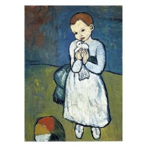 "Puzzle Michele Wilson (W165-24) - Pablo Picasso: ""Child with dove"" - 24 piezas"