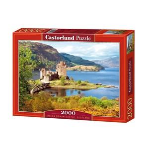 "Castorland (C-200016) - ""Eilean Donan Castle, Scotland"" - 2000 piezas"