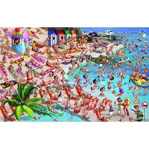 "Piatnik (536748) - François Ruyer: ""The beach"" - 1000 piezas"