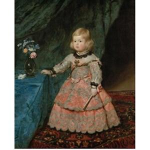 """Piatnik (540240) - Diego Velázquez: """"Infantin Margarita Teresa"""" - 1000 piezas"""