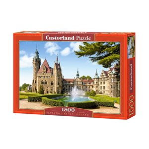 "Castorland (C-150670) - ""Moszna Castle, Poland"" - 1500 piezas"