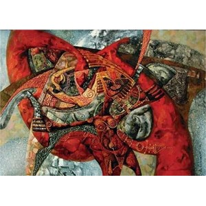 "Gold Puzzle (60317) - Dima Strelkoff: ""Burden of Passions"" - 1000 piezas"