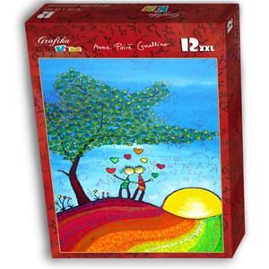 """Grafika Kids (01719) - Anne Poire, Patrick Guallino: """"Signes et Sillons de Bonheur"""" - 12 piezas"""