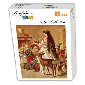 "Grafika Kids (00122) - Carl Offterdinger: ""Snow White"" - 12 piezas"