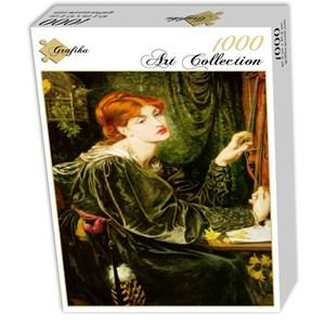 "Grafika (00223) - Dante Gabriel Rossetti: ""Veronica Veronese"" - 1000 piezas"